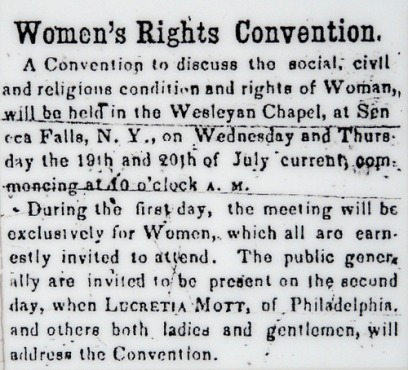 Women's suffrage date