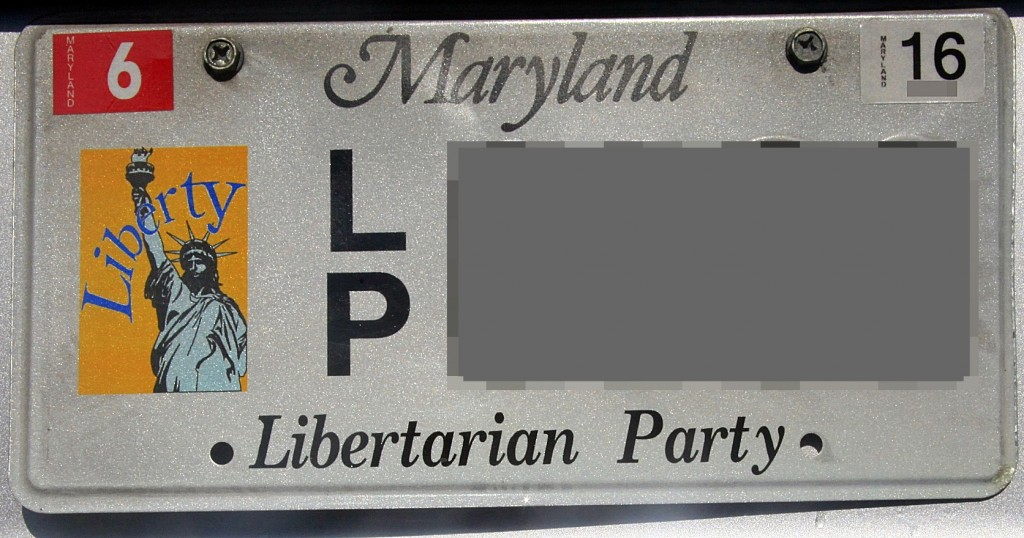 Sample MDLP License Plate