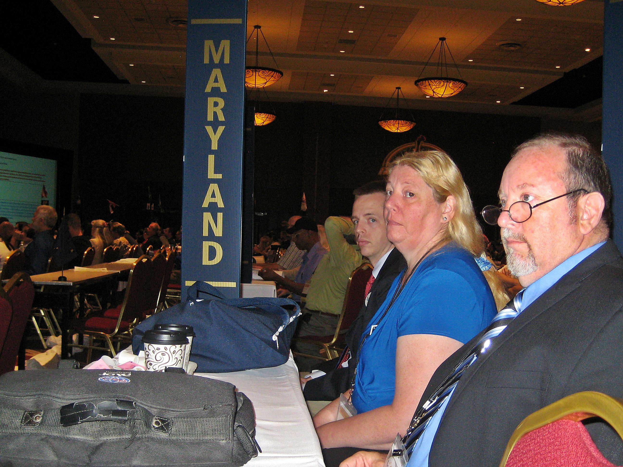 Three Delegates