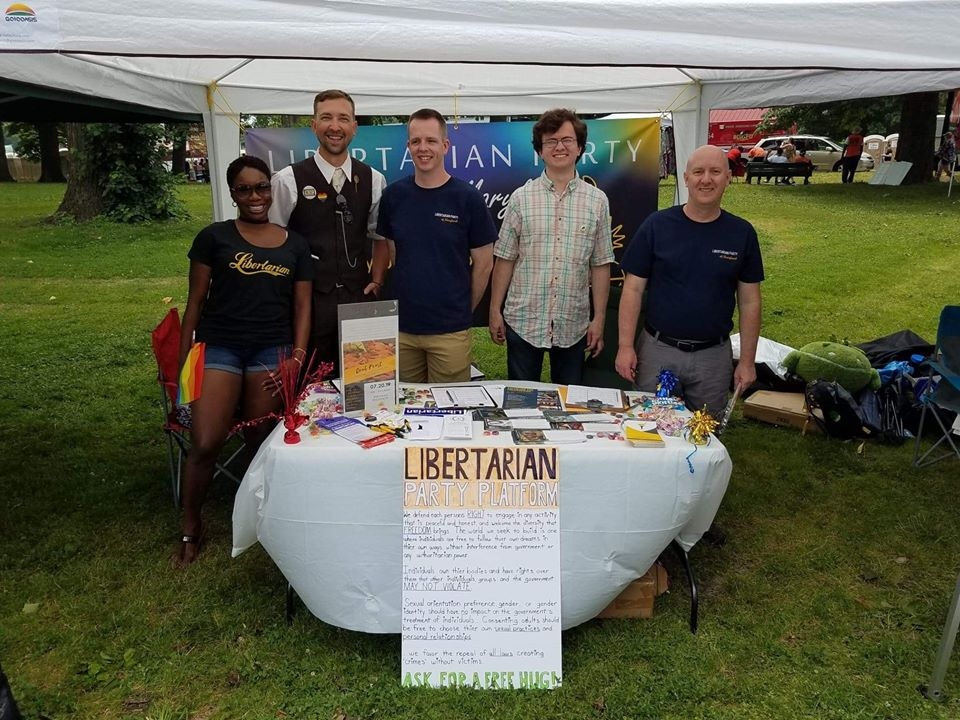 Maryland PRIDE Booth