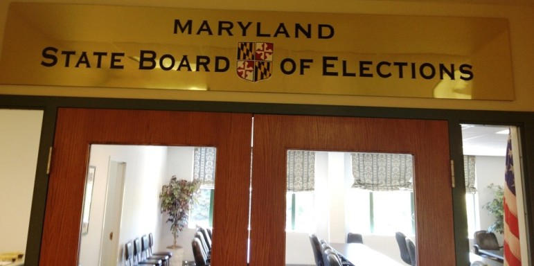 Maryland Board of Elections