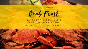 Second Annual Crab Feast Fundraiser