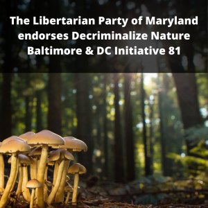 Decriminalize Nature Baltimore & DC Initiative 81