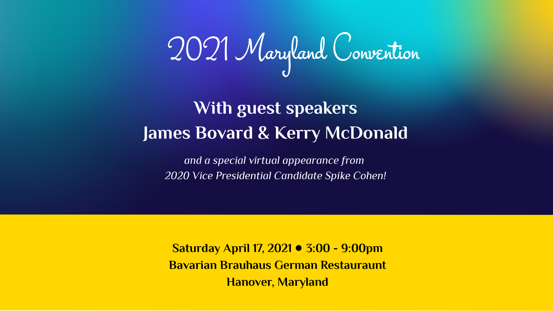 2021 State Convention